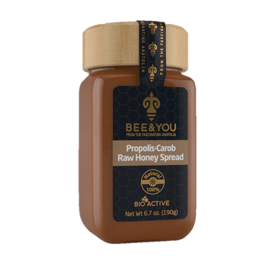 HONEY WITH   PROPOLIS AND NUTS